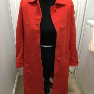 Tory Burch pea coat size 0
